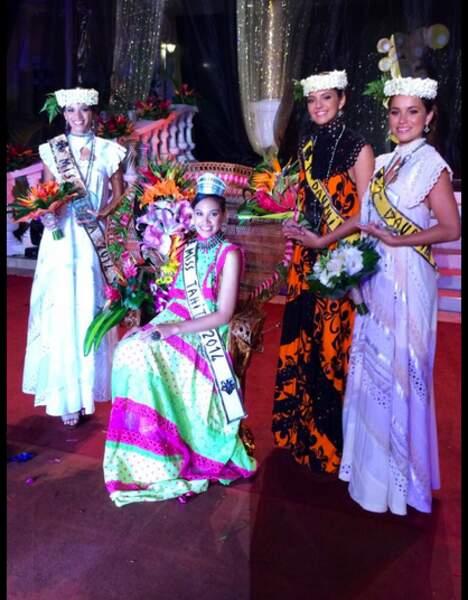 Miss Tahiti 2014, Hinarere Taputu
