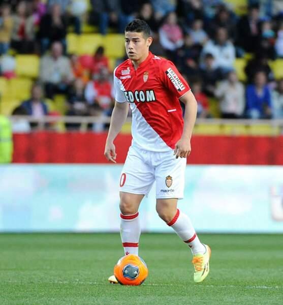 James Rodriguez (Monaco - Colombie)