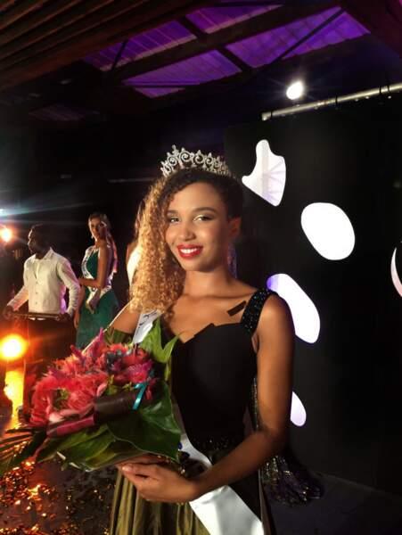Vanylle Emasse (20 ans) a été élue Miss Mayotte