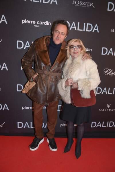 Grisoni et Nicoletta sont aussi venus voir le biopic sur Dalida