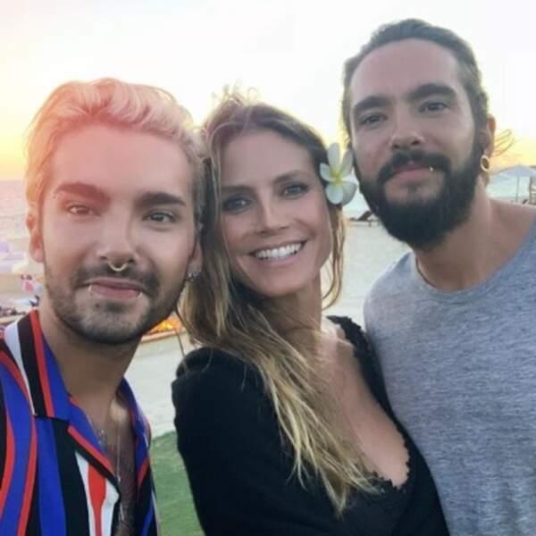 On espère pour Heidi Klum qu'elle ne confondra jamais son copain et son beau-frère (qui sont jumeaux).