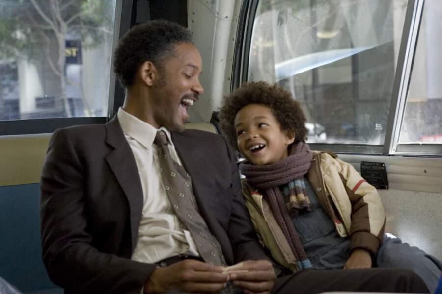 2006. Will Smith donne la réplique à son fils Jaden dans A la recherche du bonheur