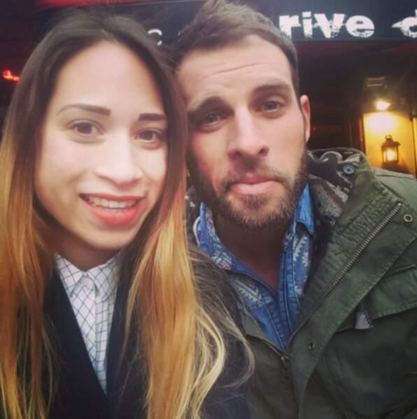 Et on termine avec un selfie de Cécilia et Nicolas