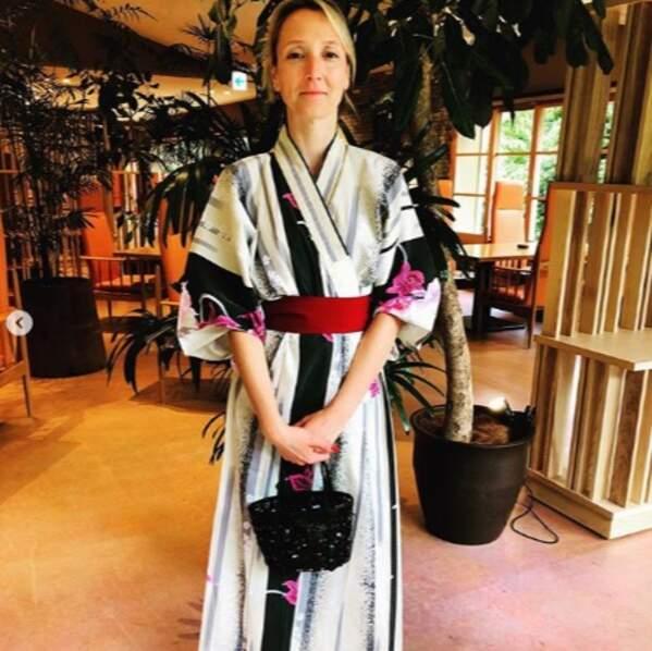 Audrey Lamy est bien arrivée au Japon.