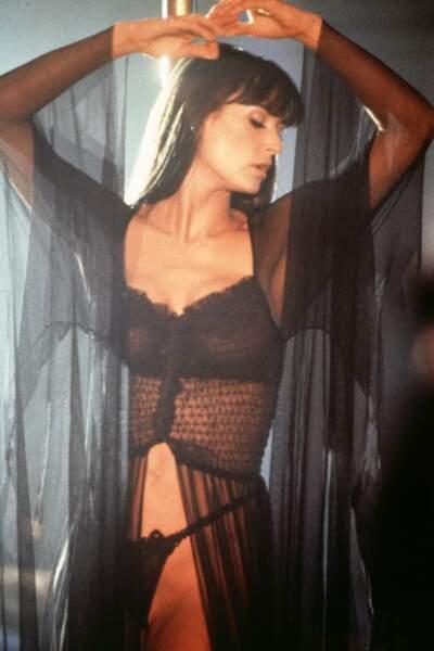 Le plus déterminé : Demi Moore se déhanche avec passion pour obtenir la garde de sa fille dans Striptease.