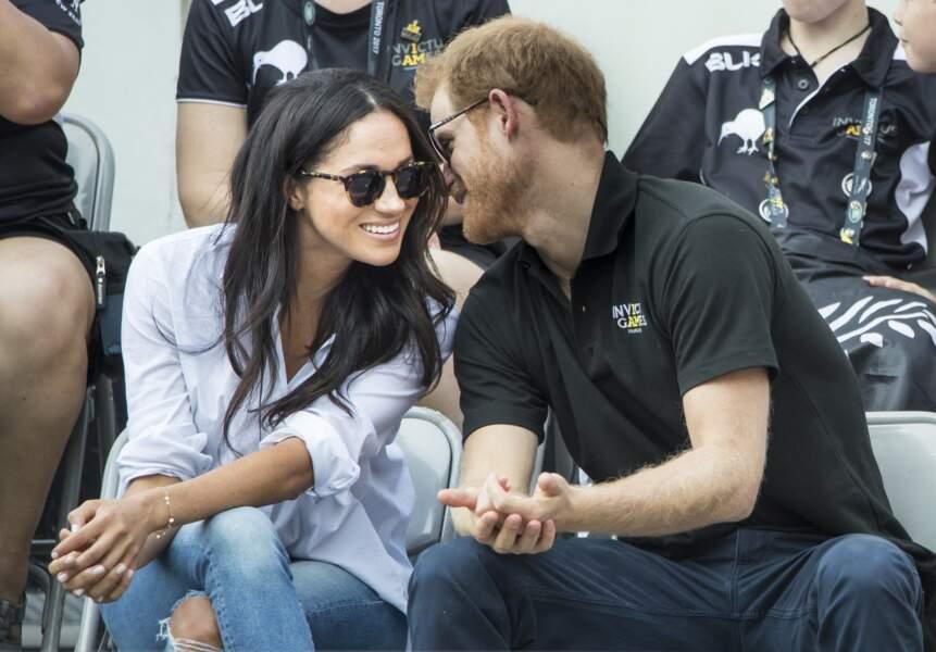 La première apparition publique de Meghan et Harry en tant que couple a eu lieu aux Invictus Games...