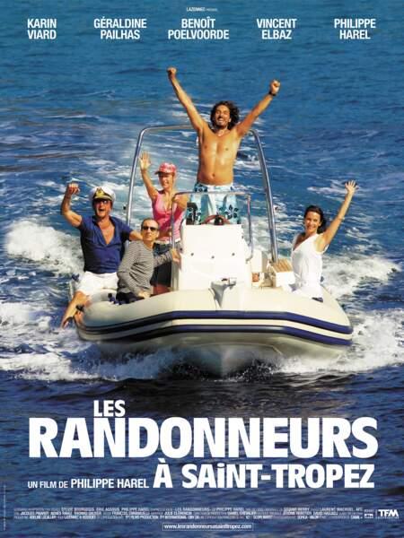 """A en croire """"Les randonneurs à Saint-Tropez"""", avec Benoît Poelvoorde et Vincent Elbaz..."""