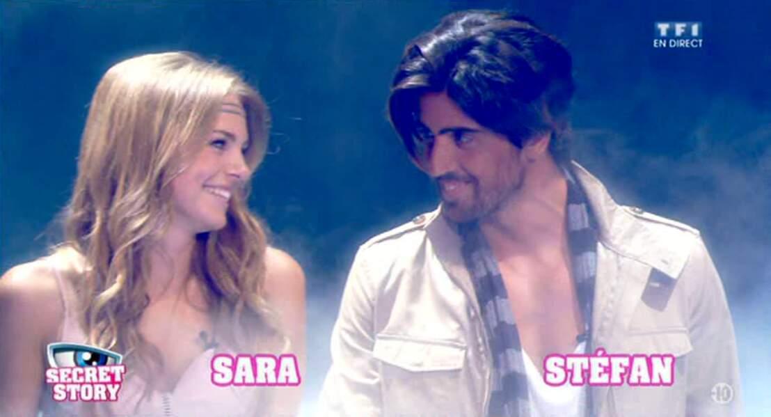Sara et Stéfan sont entrés ensemble dans la Maison des Secrets