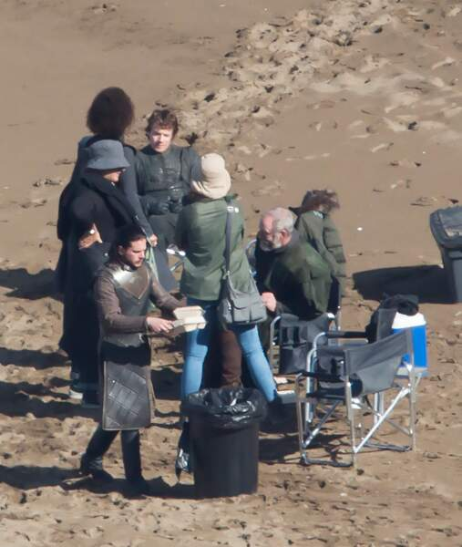 Jon Snow a visiblement un bon appétit !