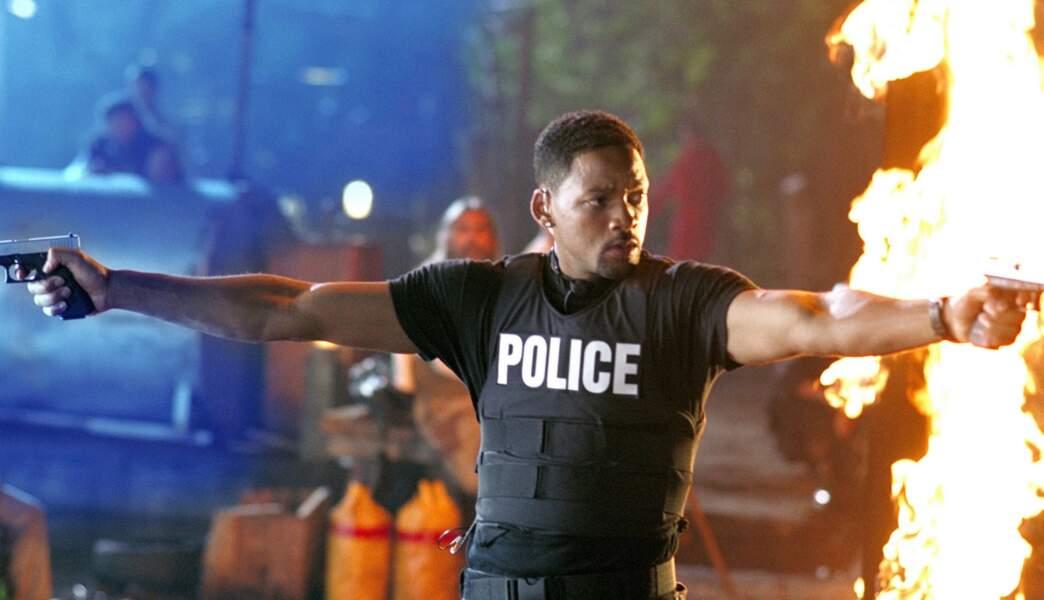 2003. Will reprend les armes et l'insigne dans Bad Boys 2