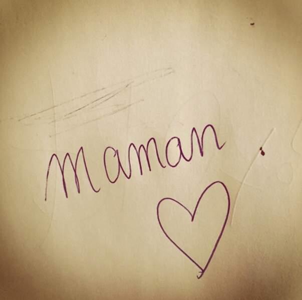 Un autographe de Maman > Un autographe de Laure Manaudou