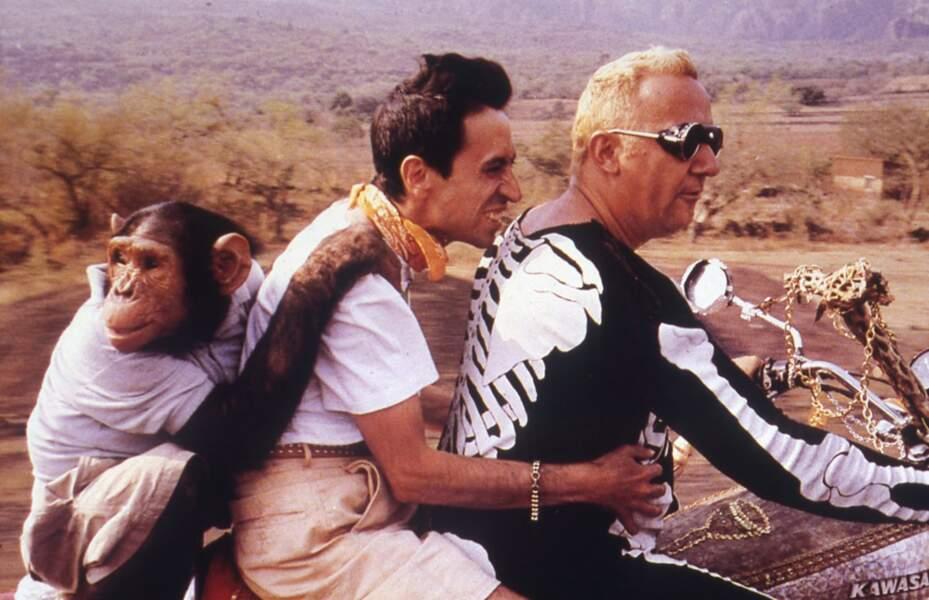 """En 1984 il joue sous la direction de Gérard Oury dans """"La vengeance du serpent à plumes"""""""