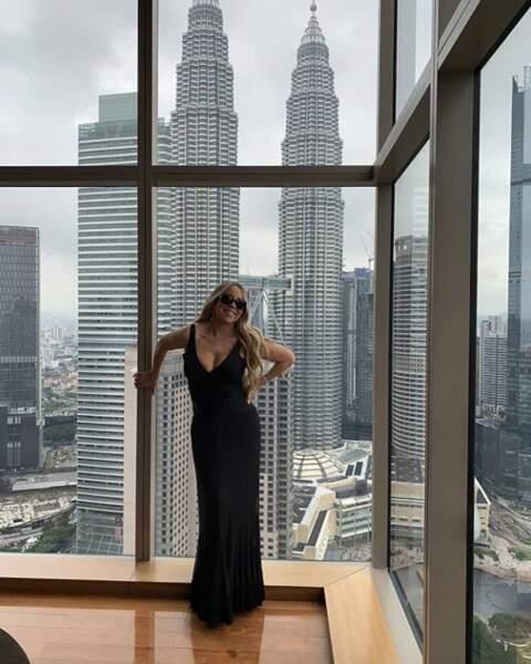 Mariah Carrey tout en sobriété pour sa tournée en Asie