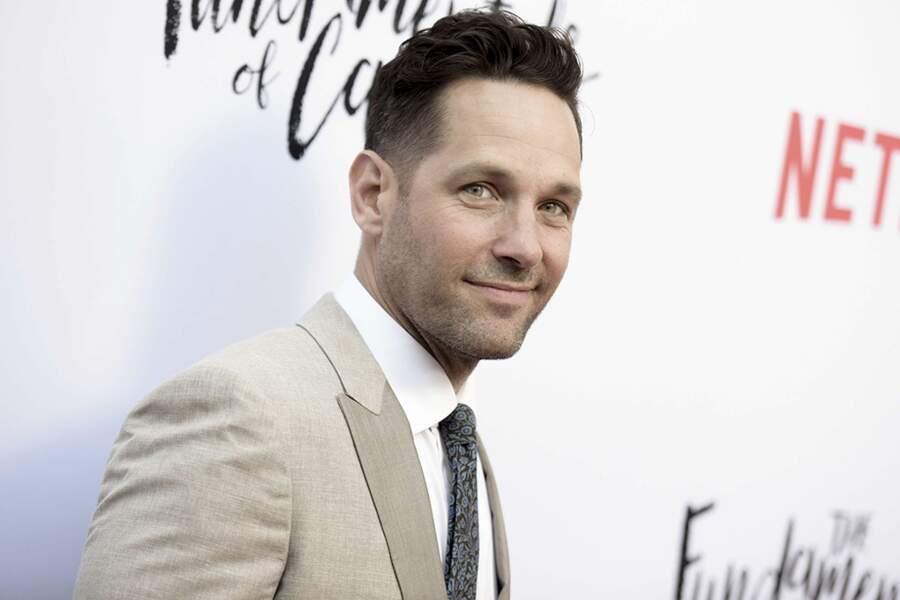 L'acteur a explosé sur le grand écran. Il incarne notamment Ant-Man dans les films Marvel.