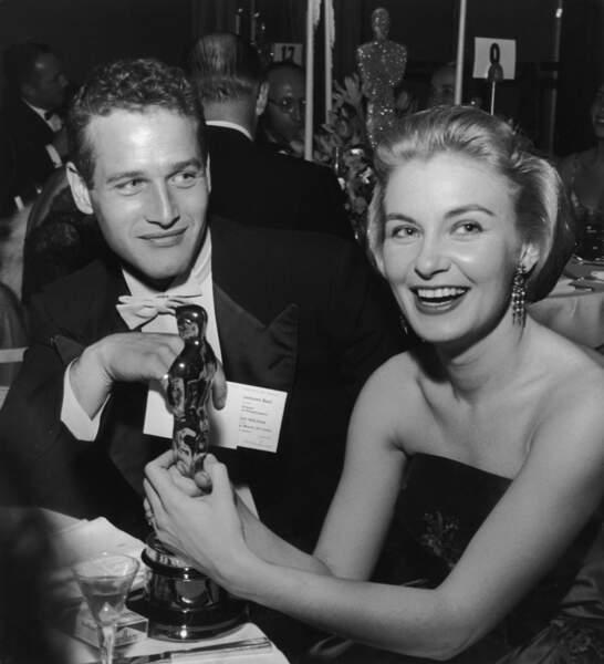 Joanne Woodward et Paul Newman, décédé le 26 septembre 2008.