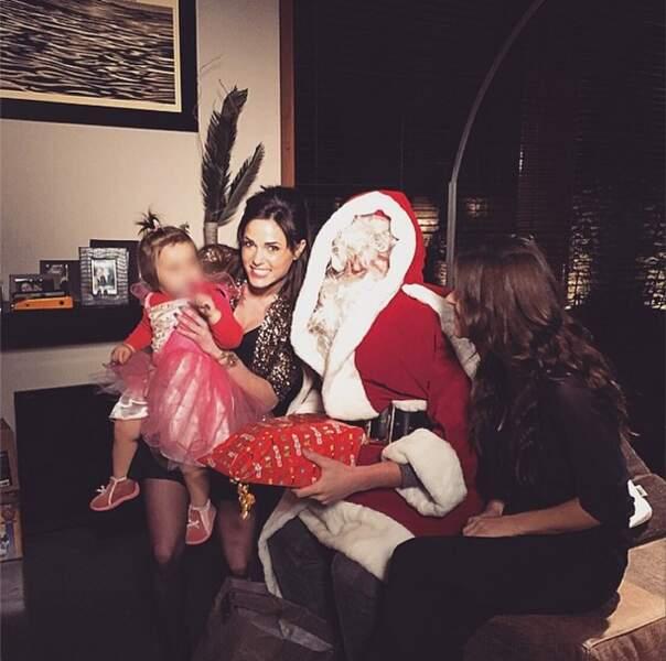 Elle peut vraiment remercier le Père Noël