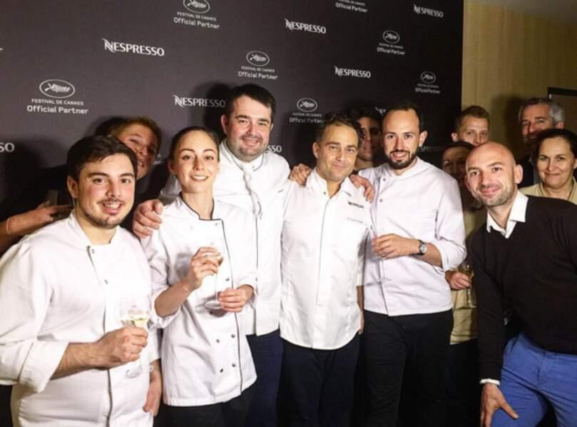 Jean-François Piège (Top Chef) a organisé un superbe dîner pour la marque Nespresso.