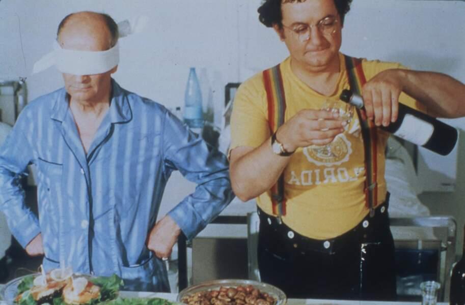 Grand amateur de cirque, Coluche ne veut pas prendre la succession de son père dans le domaine de la gastronomie