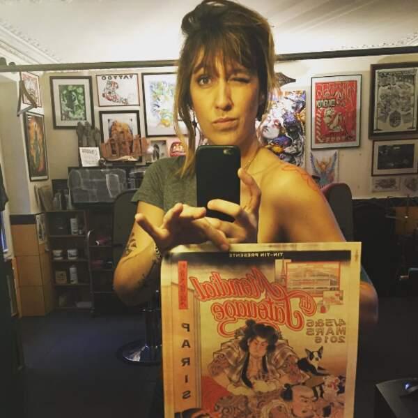 Mais elle adore surtout les tatouages !
