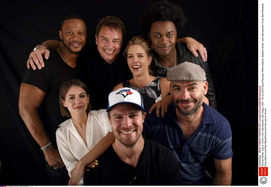 Portrait de famille également pour la série Arrow