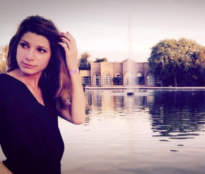 Pour ses 31 ans, la belle s'est envolée pour Marrakech