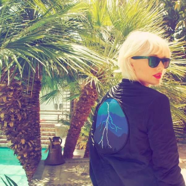 Taylor Swift a choisi un look plus rock