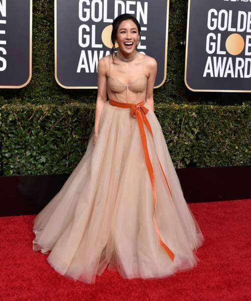 Constance Wu (Crazy Rich Asians) était très heureuse d'être invitée !