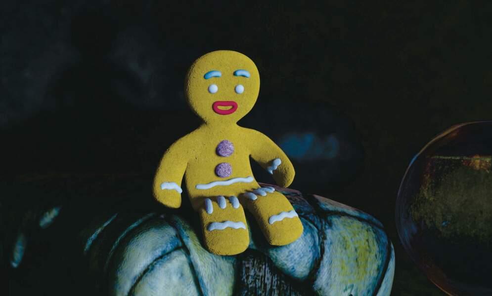 """Tibiscuit de Shrek : Un petit pain d'épices à croquer, surtout quand il appelle son """"Papatissier"""" !"""