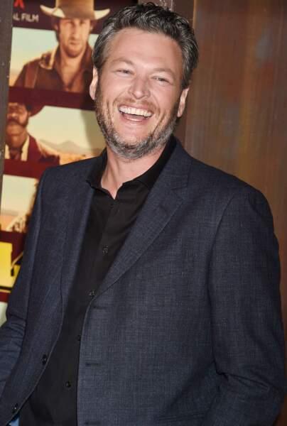Ainsi que Blake Shelton, grand sourire !