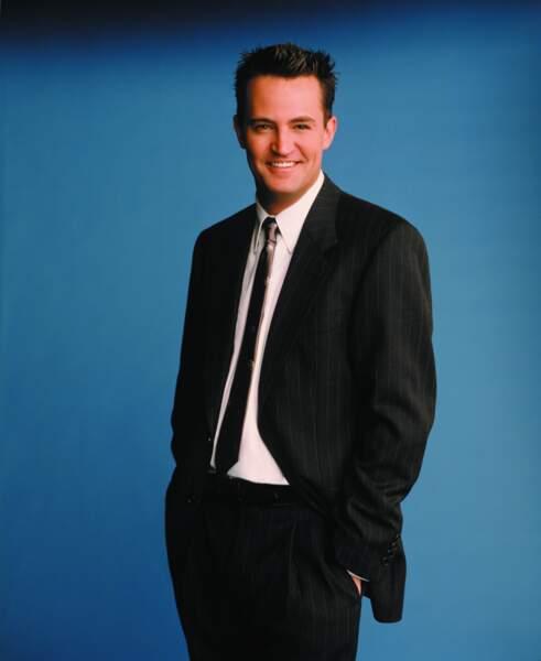 Mais déjà dans Friends, son physique avait évolué...