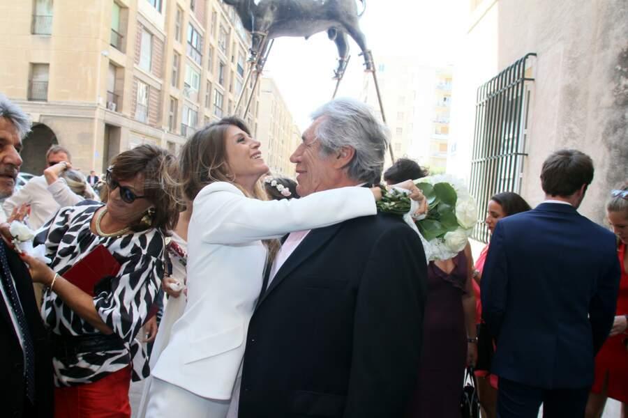 Et il semble adorer sa nouvelle belle-fille, directrice de casting de Secret Story.