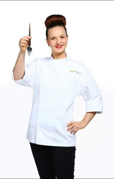 Joy-Esther Poinsot a 25 ans et est second de cuisine dans un restaurant de Côte-d'Or