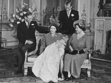 les baptêmes de la famille royale britannique