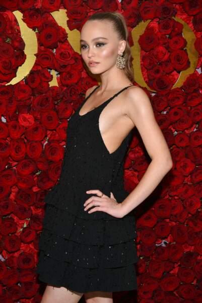 Lily Rose Depp actrice en herbe et fille de Johnny Depp et Vanessa Paradis a de qui tenir