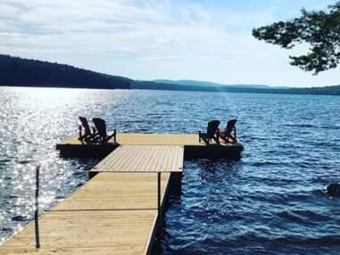 Détente en famille, visites... les vacances rêvées de Faustine Bollaert au Canada