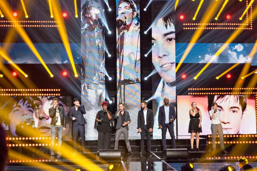 Réunis devant Grégory, les candidats de The Voice saison 3