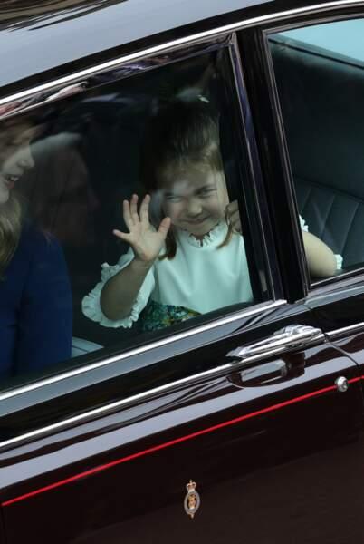 La princesse Charlotte prend son rôle très au sérieux