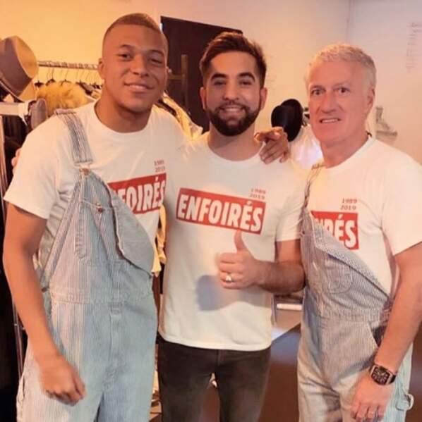Lors de l'ultime show à Bordeaux, Kylian Mbappé et Didier Deschamps sont venus agrandir la troupe