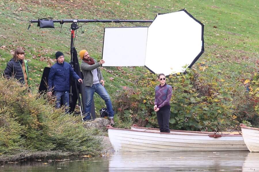De faire une balade en barque au Bois de Boulogne