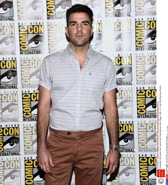Tout comme Zachary Quinto (vu dans les récents films Star Trek et dans la série Heroes)