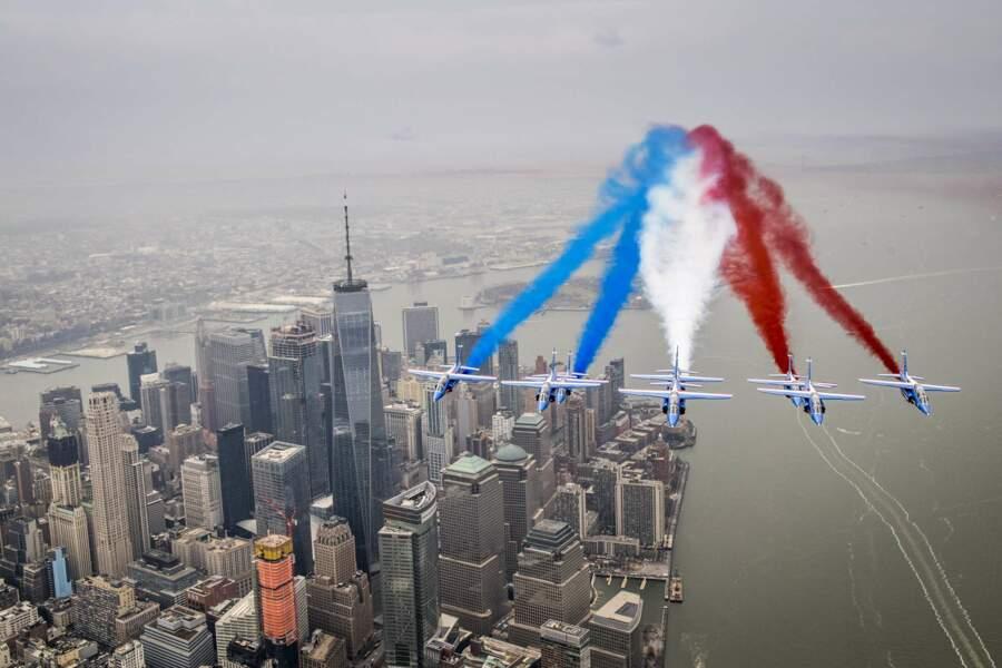 Ils sont passés au-dessus du One World Trade Center