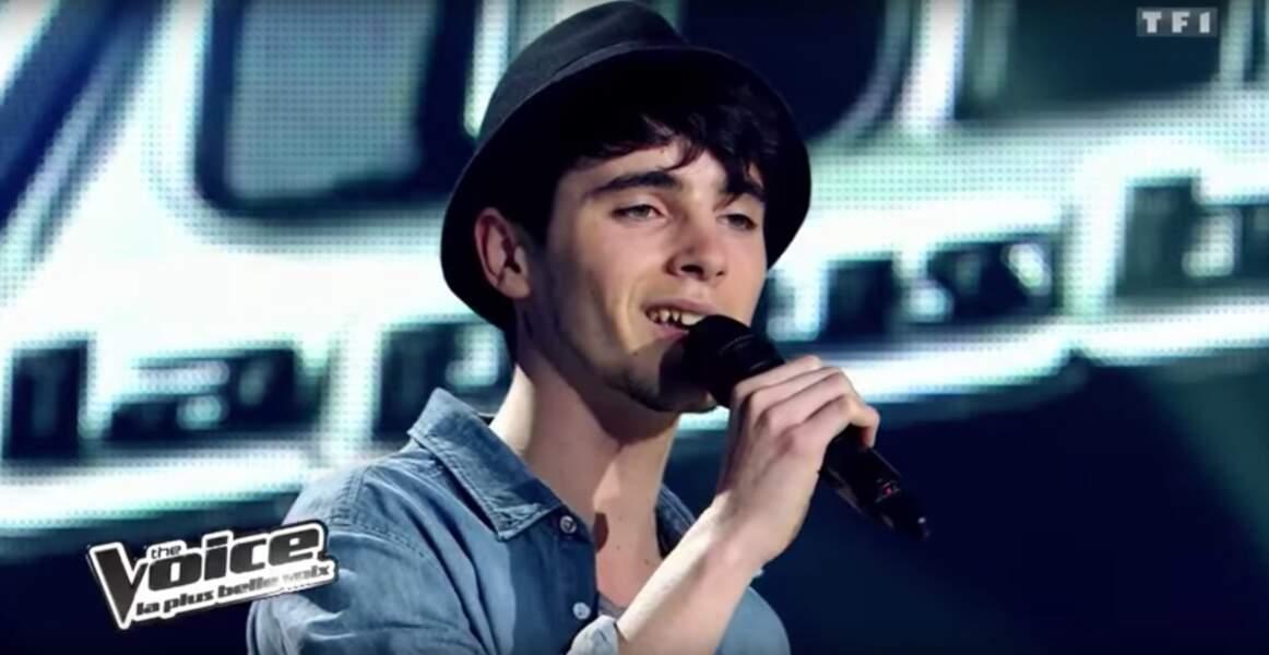 Vous vous souvenez de Louis Delort, talent de la team Garou dans la toute première saison de The Voice ?