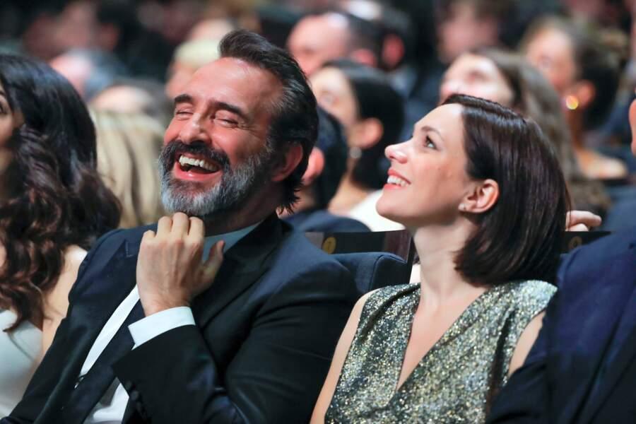 Jean Dujardin et Nathalie Péchalat étaient là aussi
