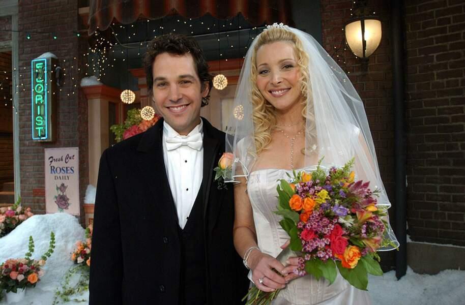 Paul Rudd a débarqué dans les dernière saisons de Friends dans le rôle de Mike, le mari de Phoebe.