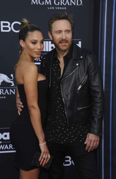 David Guetta est, lui, venu en couple avec Jessica Ledon
