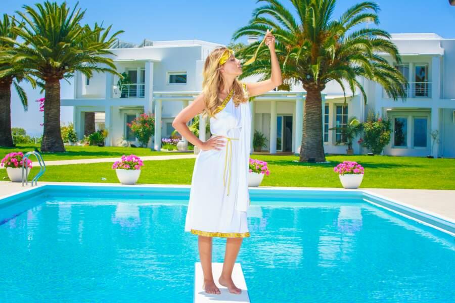 Barbara est apparue dans seulement 20 épisodes dans la saison 9, Back to Paradise