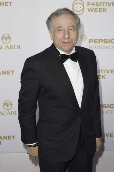 Jean Todt, le président de la Fédération internationale de l'automobile (FIA)