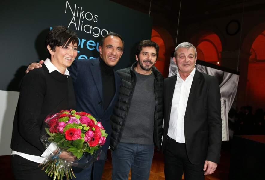 Nikos Aliagas avait aussi Patrick Fiori, Laurence et Pierre Lemarchal, les parents de Grégory Lemarchal
