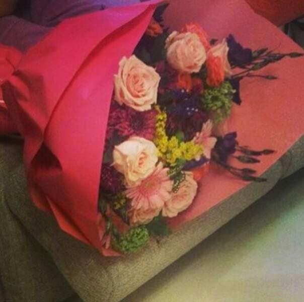 Et des fleurs