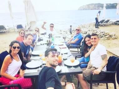 Tony Parker fête l'anniversaire de son fils, Antoine Griezmann sauve l'Atlético... L'Instagram du week-end sportif
